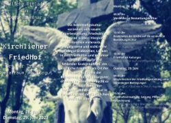 """Onlineseminar """"Kirchlicher Friedhof"""" des Bistums Augsburg"""