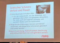 Fachdialog Palliative Geriatrie in Berlin am 9. Oktober 2020