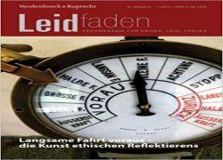Buchtipp: Leidfaden 2019 Jg. 8, Heft 1: Langsame Fahrt voraus – die Kunst ethischen Reflektierens