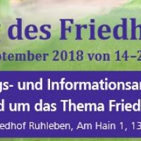 """Tag des Friedhofs"" 2018 in Berlin"